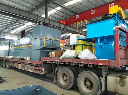 舟山养殖污水气浮机