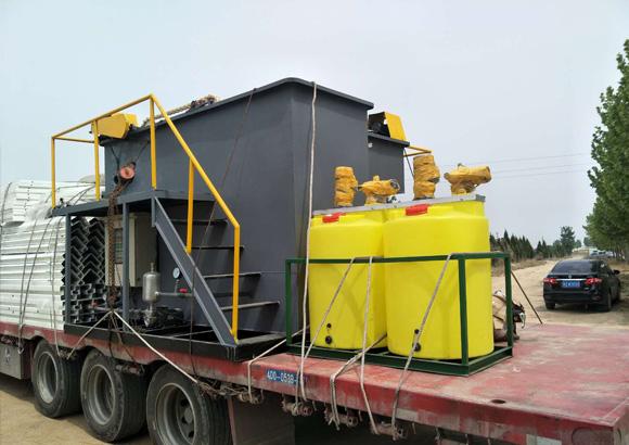 气浮设备异常情况浮渣不上来该怎么处理?
